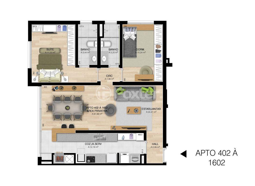 Foxter Imobiliária - Apto 3 Dorm, Centro, Esteio - Foto 2