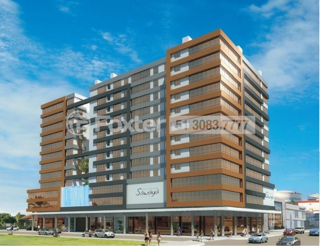 Foxter Imobiliária - Sala, Centro, Capão da Canoa