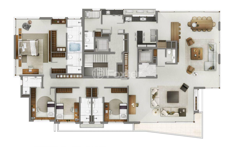 Foxter Imobiliária - Apto 5 Dorm, Petrópolis - Foto 11