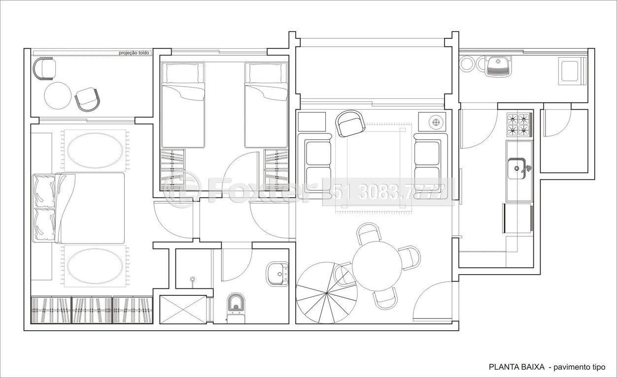 Cobertura 3 Dorm, Tristeza, Porto Alegre (107583) - Foto 32