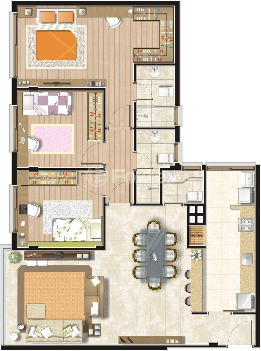 Foxter Imobiliária - Apto 3 Dorm, Tristeza - Foto 33