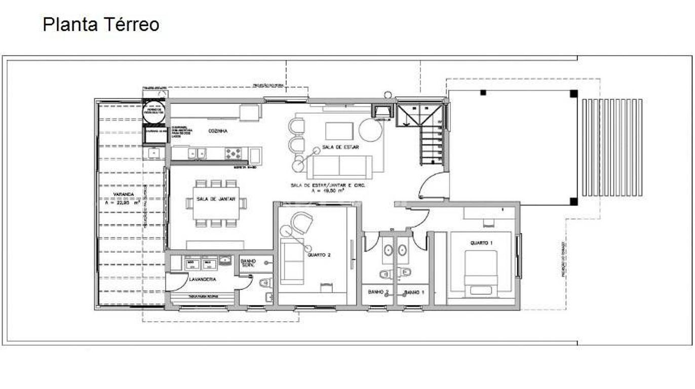 Casa 5 Dorm, Santa Cruz, Gravataí (114703) - Foto 14