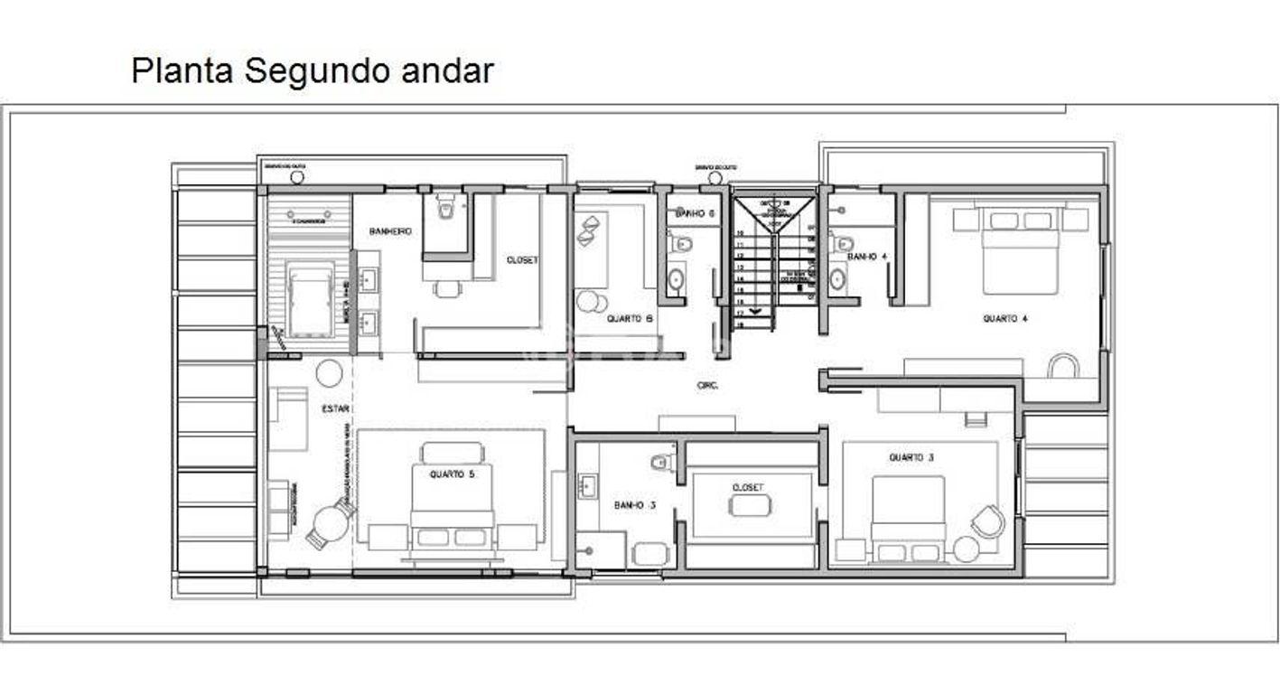 Casa 5 Dorm, Santa Cruz, Gravataí (114703) - Foto 13