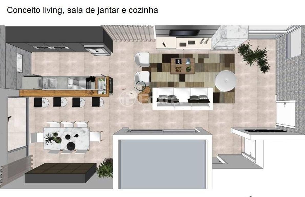 Casa 5 Dorm, Santa Cruz, Gravataí (114703)