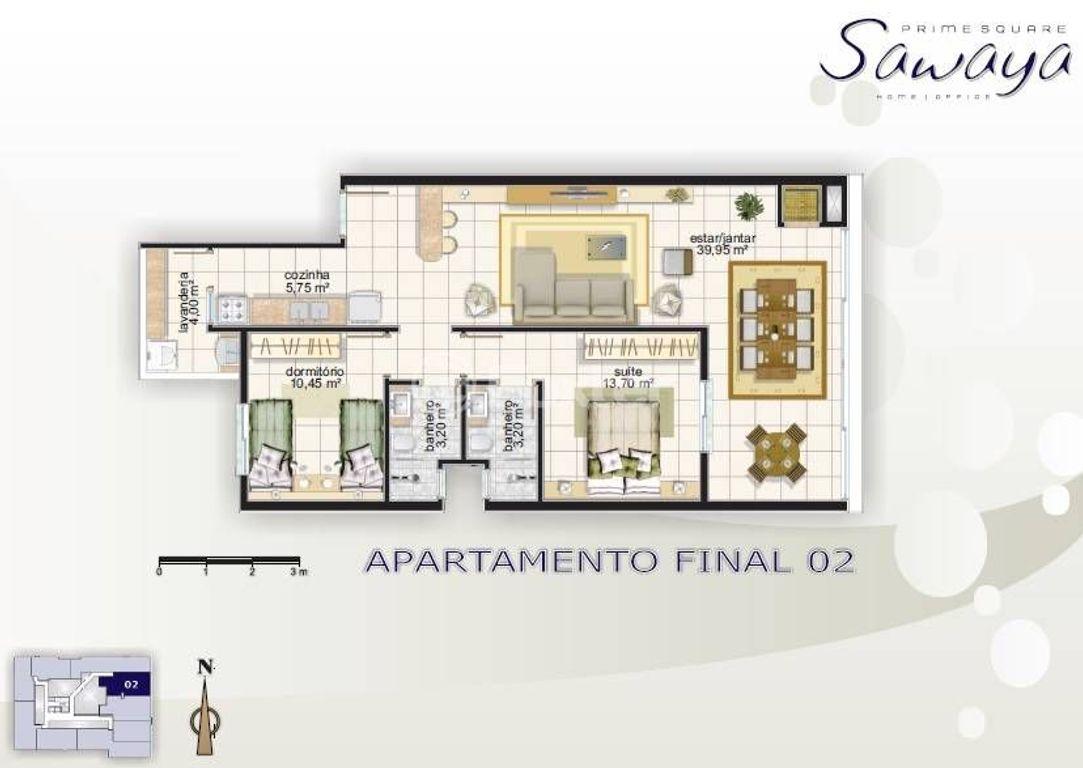 Foxter Imobiliária - Apto 2 Dorm, Centro (115146) - Foto 4