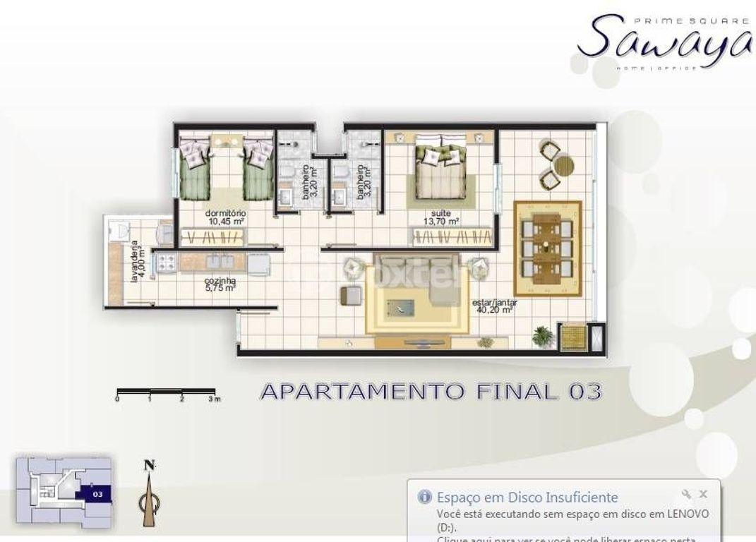 Foxter Imobiliária - Apto 2 Dorm, Centro (115152) - Foto 4