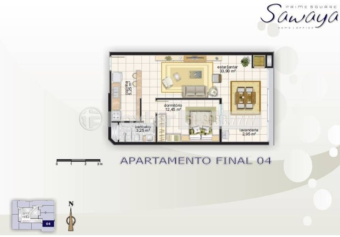 Foxter Imobiliária - Apto 1 Dorm, Centro (115159) - Foto 4