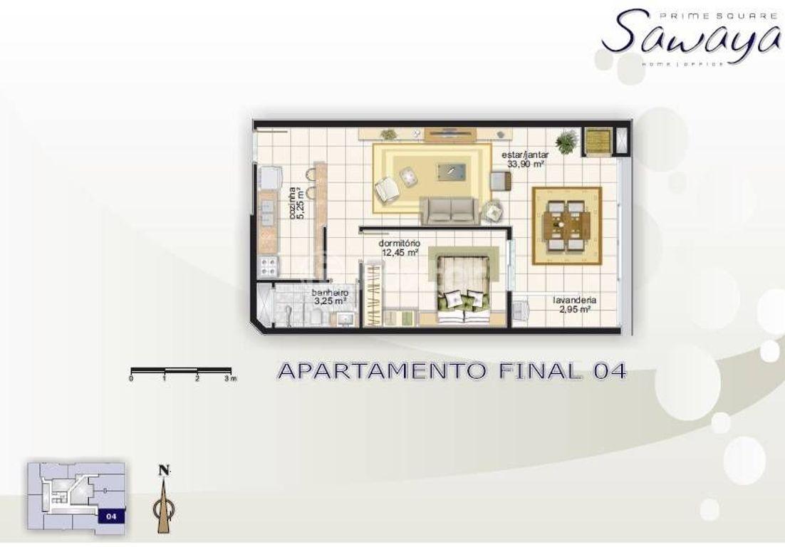 Foxter Imobiliária - Apto 1 Dorm, Centro (115162) - Foto 4