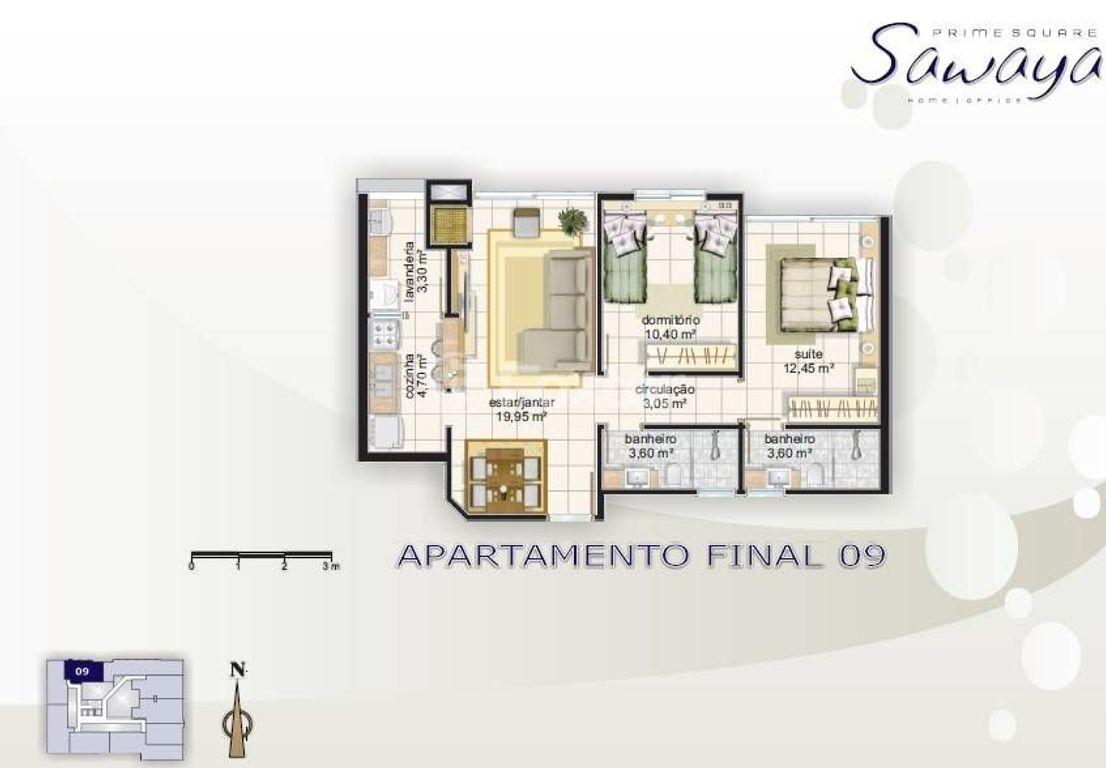 Foxter Imobiliária - Apto 2 Dorm, Centro (115194) - Foto 4