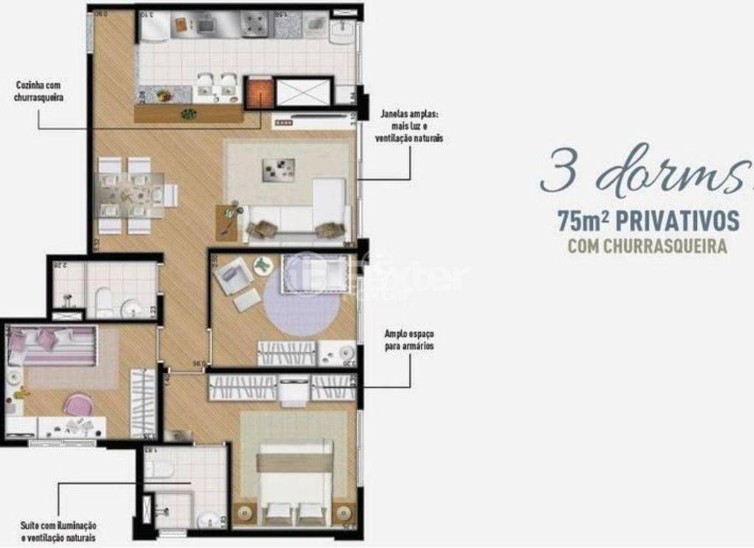 Foxter Imobiliária - Apto 3 Dorm, Jardim Carvalho - Foto 10