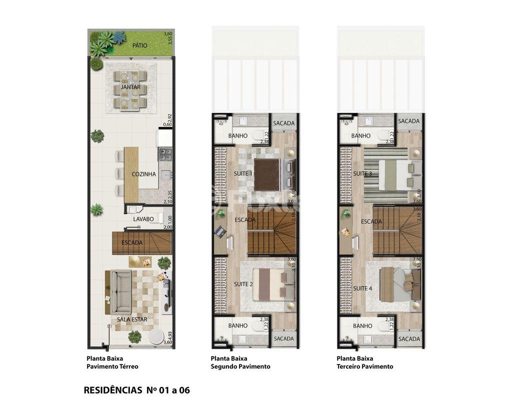 Foxter Imobiliária - Casa 3 Dorm, Cristal (123594) - Foto 17