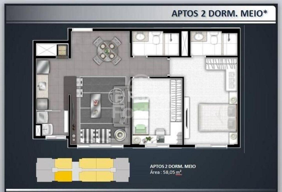 Apto 2 Dorm, Glória, Porto Alegre (124572) - Foto 11
