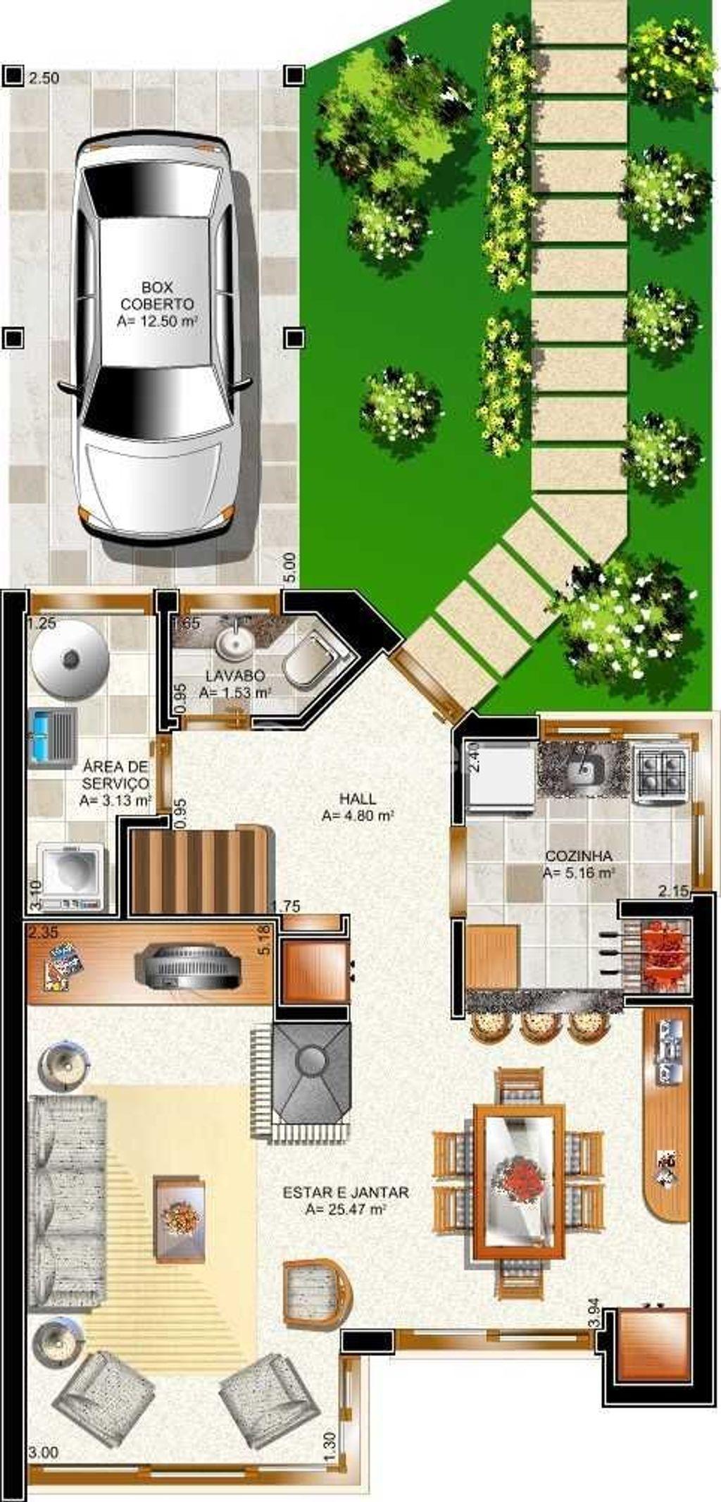 Casa 2 Dorm, Planalto, Gramado (124619) - Foto 12