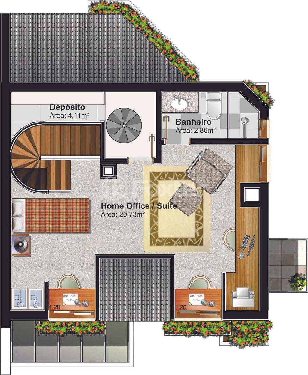 Casa 2 Dorm, Planalto, Gramado (124622) - Foto 14