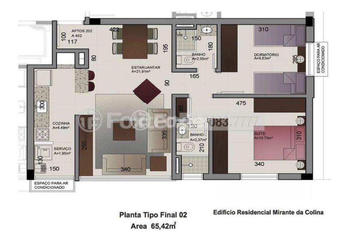 Foxter Imobiliária - Apto 2 Dorm, Jardim São Pedro - Foto 11