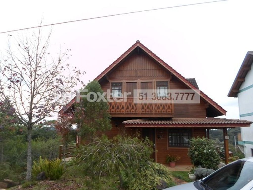 Casa 4 Dorm, Mato Queimado, Gramado (125757)
