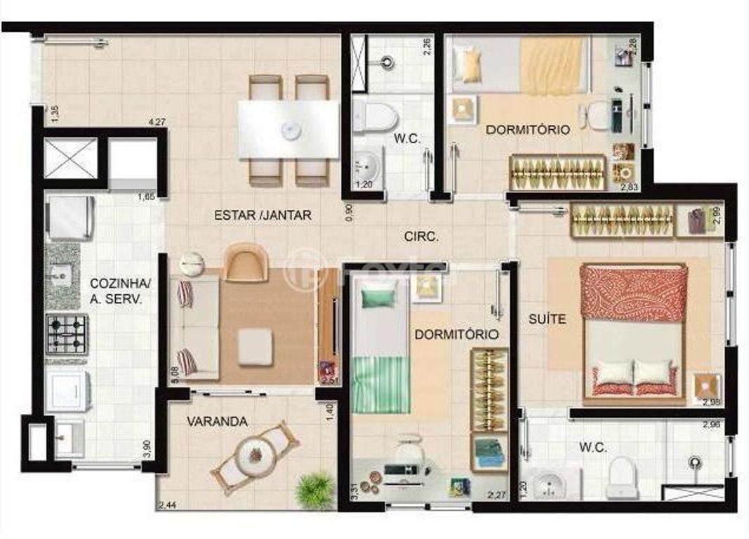 Foxter Imobiliária - Apto 3 Dorm, Humaitá (130091) - Foto 11