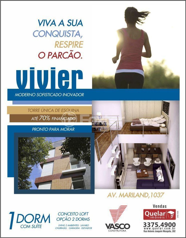 Loft 1 Dorm, Auxiliadora, Porto Alegre (133594) - Foto 15