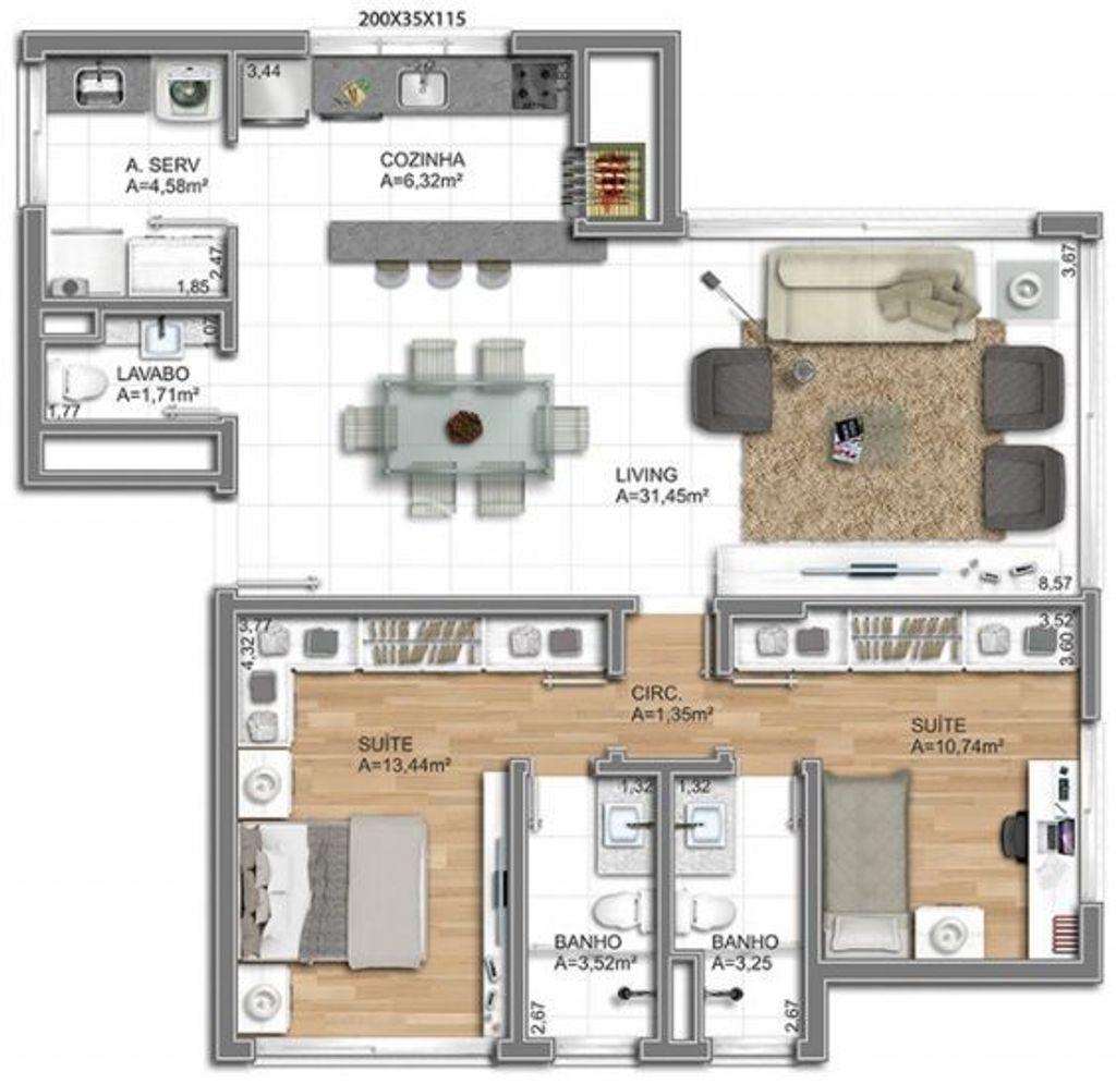 Foxter Imobiliária - Apto 2 Dorm, Bela Vista - Foto 6