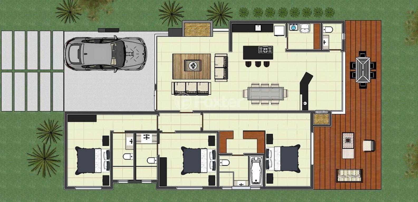 Casa 3 Dorm, Centro, Torres (137241) - Foto 13