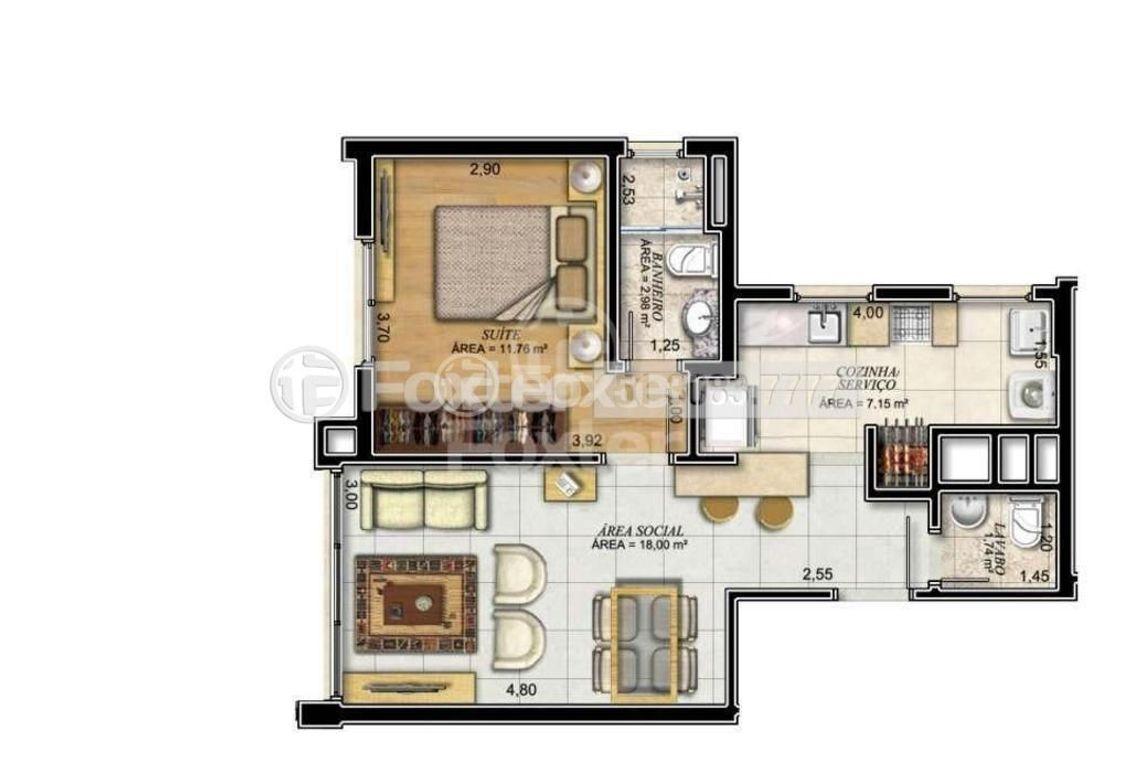 Foxter Imobiliária - Apto 1 Dorm, Passo da Areia - Foto 7