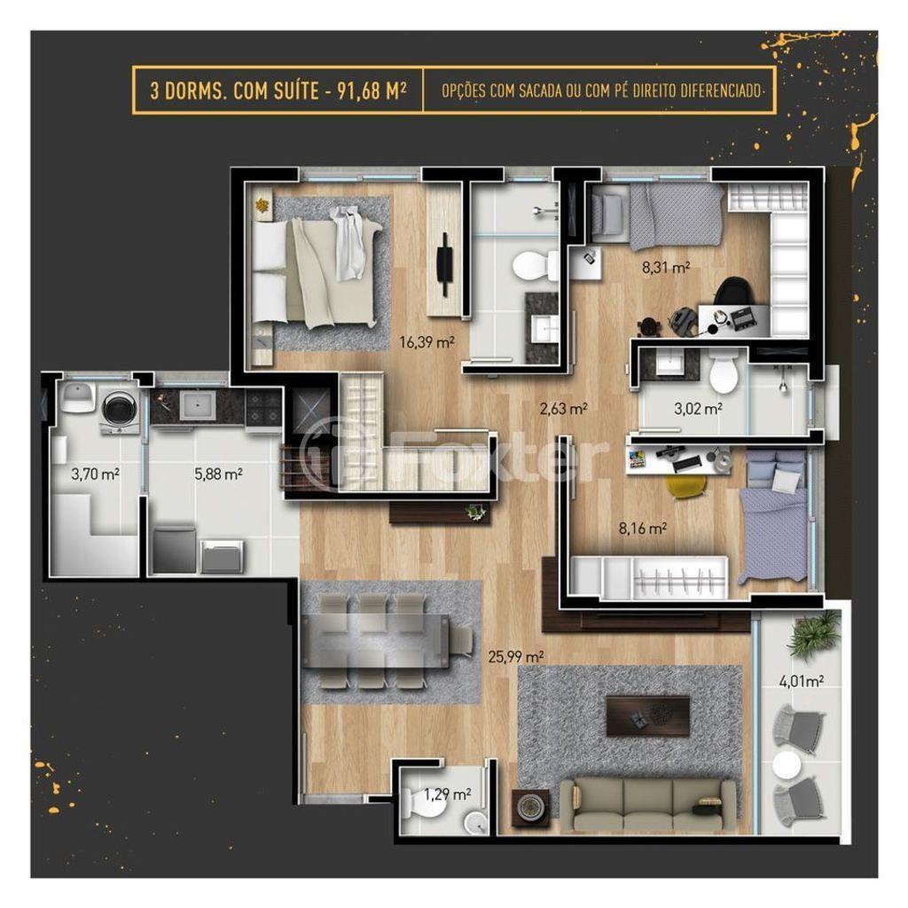 Foxter Imobiliária - Apto 3 Dorm, Passo da Areia - Foto 13