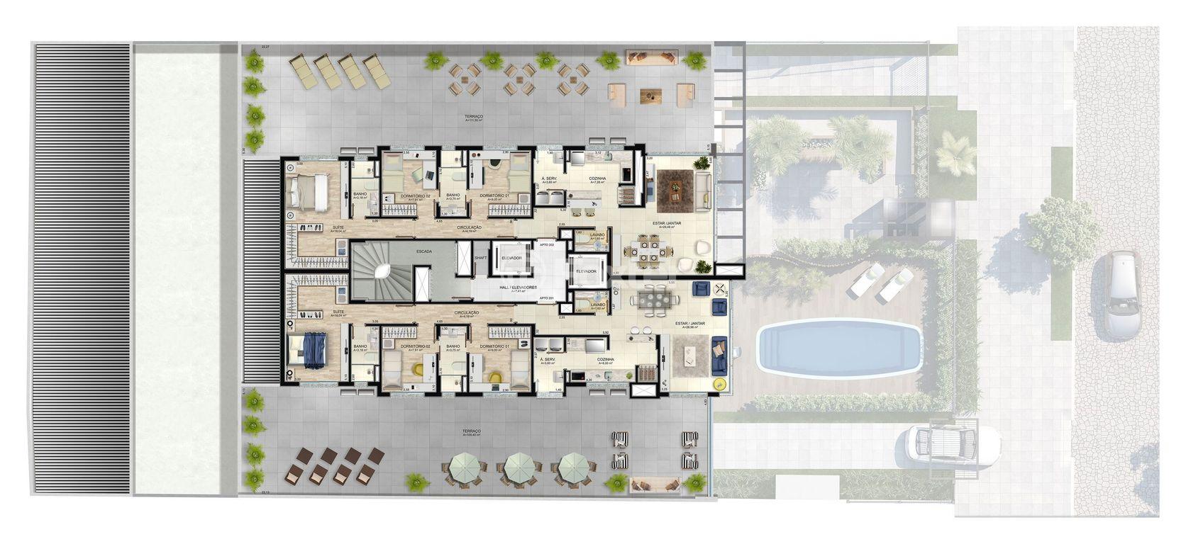 Foxter Imobiliária - Apto 3 Dorm, Tristeza - Foto 9
