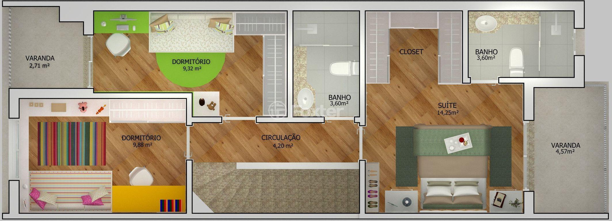 Casa 3 Dorm, Estância Velha, Canoas (141867) - Foto 10