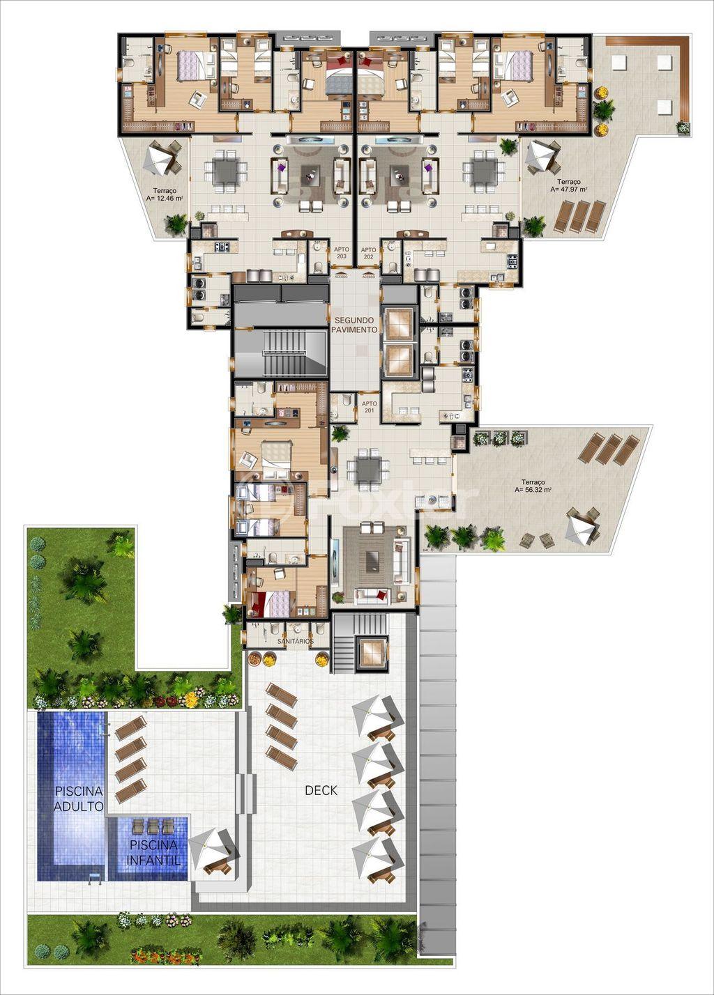 Foxter Imobiliária - Apto 3 Dorm, Auxiliadora - Foto 4