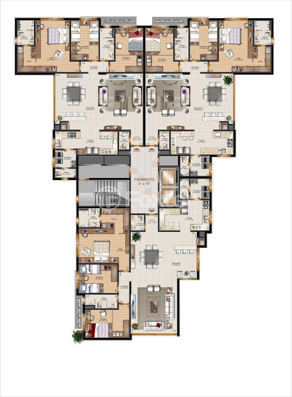 Foxter Imobiliária - Apto 3 Dorm, Auxiliadora - Foto 5