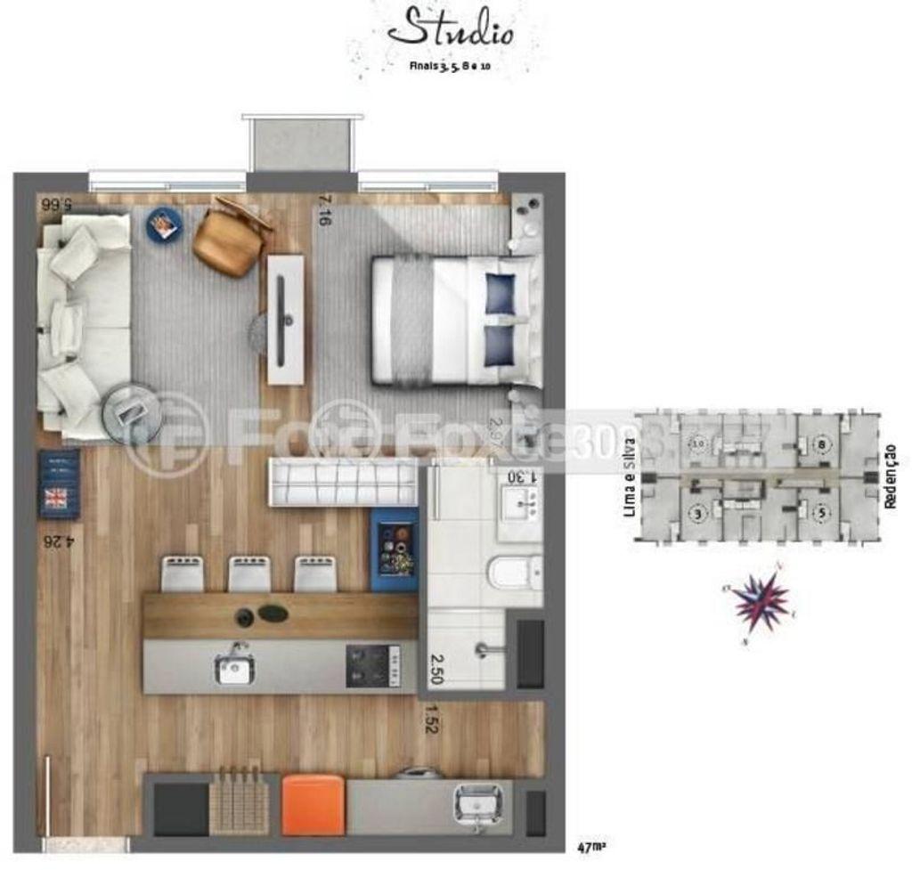 Loft 1 Dorm, Centro Histórico, Porto Alegre (146461) - Foto 11