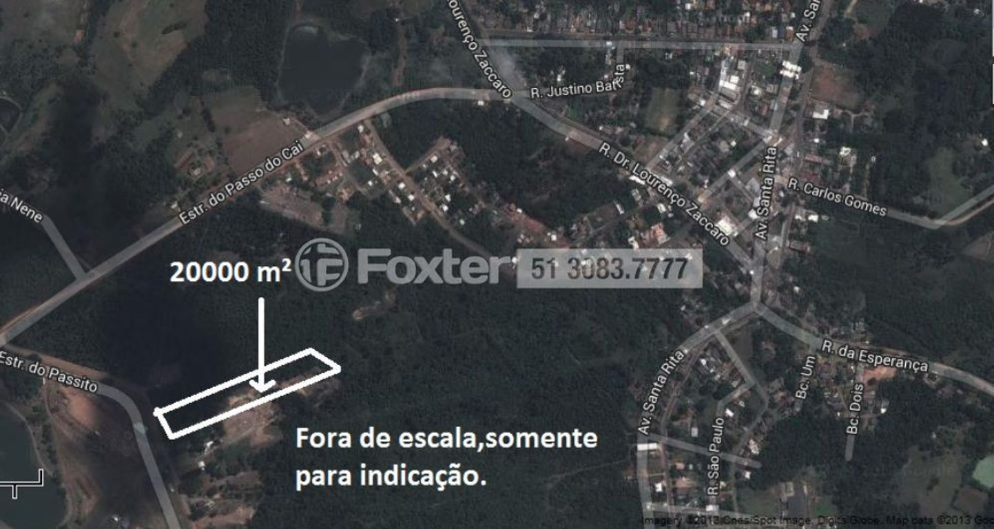 Terreno, Centro, Nova Santa Rita (146861)