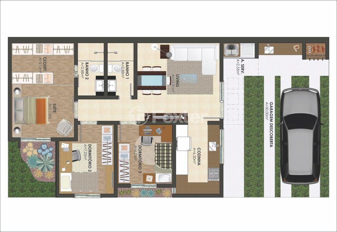 Casa 3 Dorm, Mathias Velho, Canoas (147104) - Foto 3