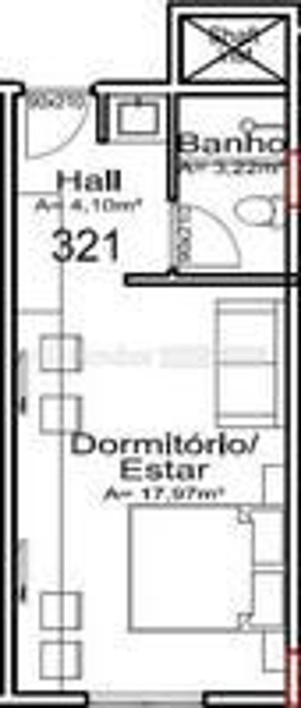 Flat 1 Dorm, Vila Suica, Gramado (147531) - Foto 11