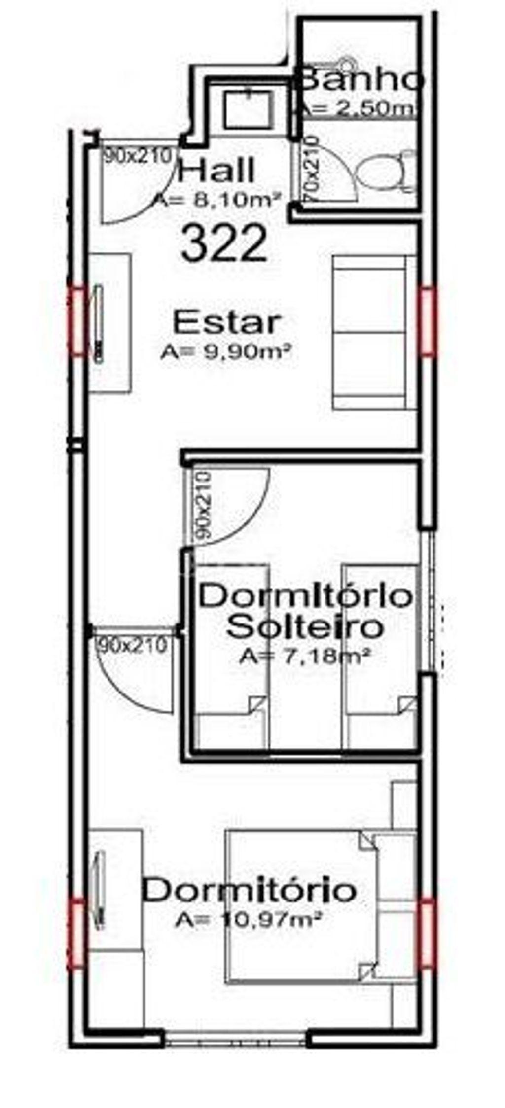 Flat 2 Dorm, Portico, Gramado (150869) - Foto 13