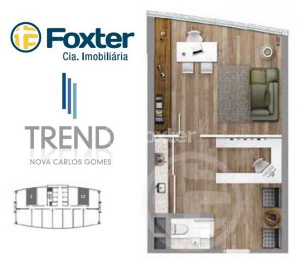 Tabela Trend Nova Carlos Gomes - Sala, Petrópolis, Porto Alegre (6402) - Foto 23