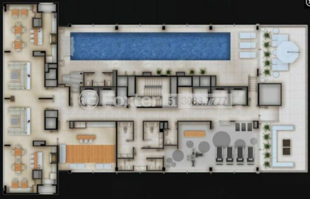 Trend City Center Corporate - Apto 1 Dorm, Centro Histórico (6861) - Foto 11